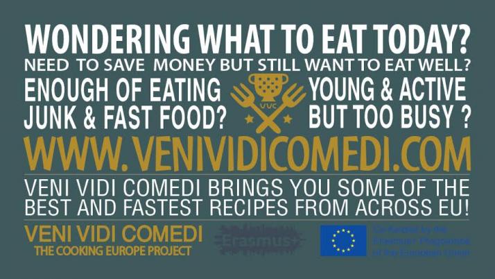 Ευρωπαϊκή πρόσκληση σε «γεύμα»: Veni Vidi Comedi