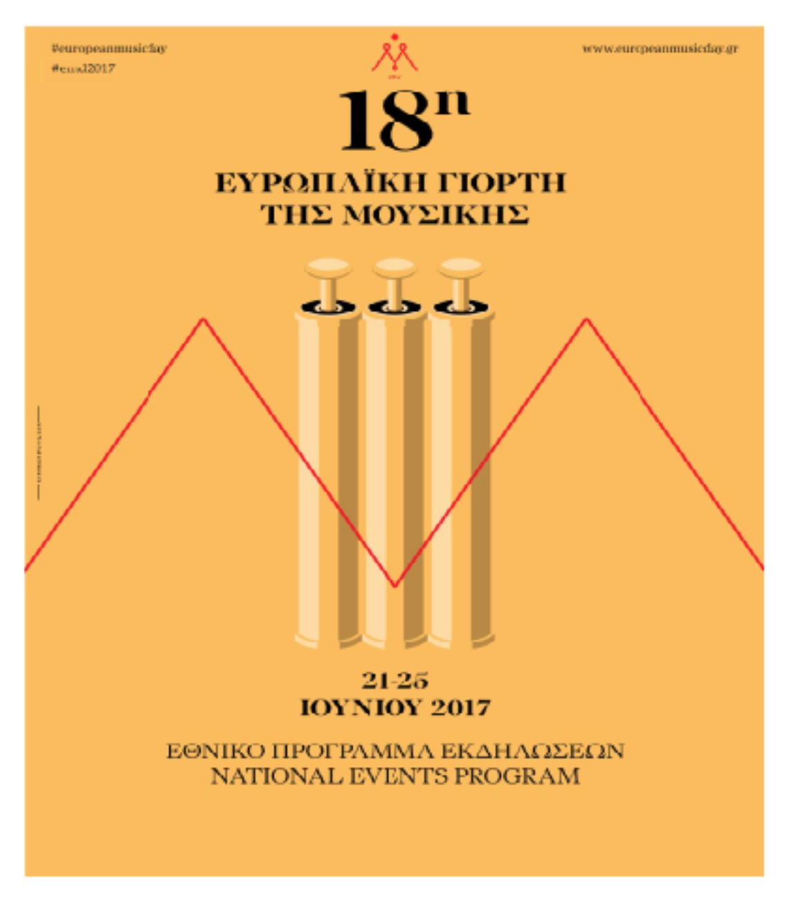 18η Ευρωπαϊκή Γιορτή της Μουσικής Ελλάδος