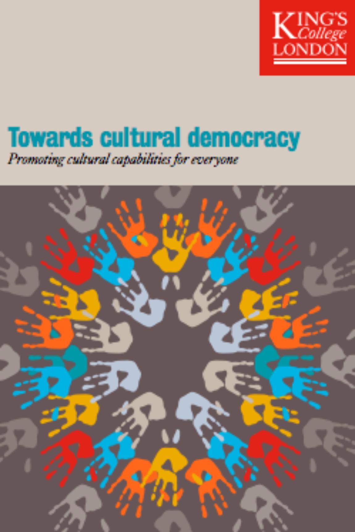 Νέα μελέτη : «Towards cultural democracy: Promoting cultural capabilities for everyone»