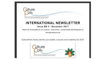 CulturePolis' International Newsletter
